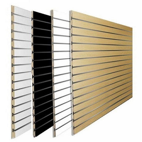 slatwall panel long groove