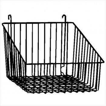 gridwall sloped front basket