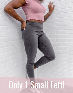 Almost Denim Gray Jeggings
