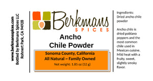 Chile Powder Ancho