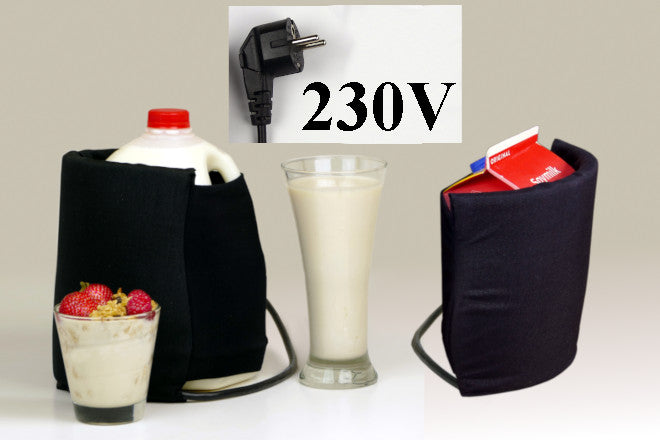 230 Volt International Version Probiotic Maker & 2 Free Starters - In-Bottle Yogurt/Kefir/Protein Shake Maker