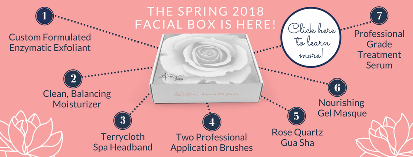 Here's what's inside the Seasonal Facial Box