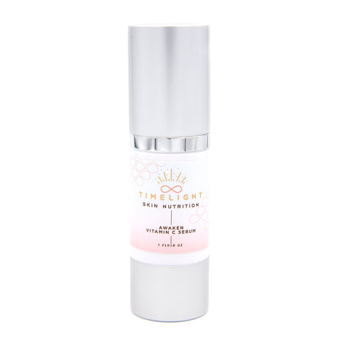 Awaken Vitamin C Serum is a daily serum that's deeply stimulating and perfectly brightening.