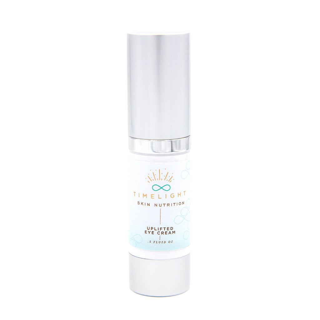 Uplifted Eye Cream is an essential eye cream to soften fine lines, brighten under eyes, and reduce puffiness.