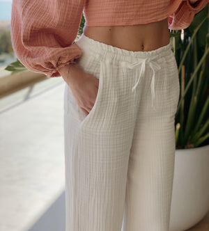 Weekend Cotton Pants