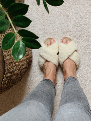 Irma Wool Slippers