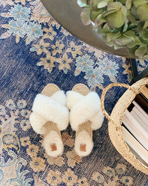LORI Sheepskin Slippers