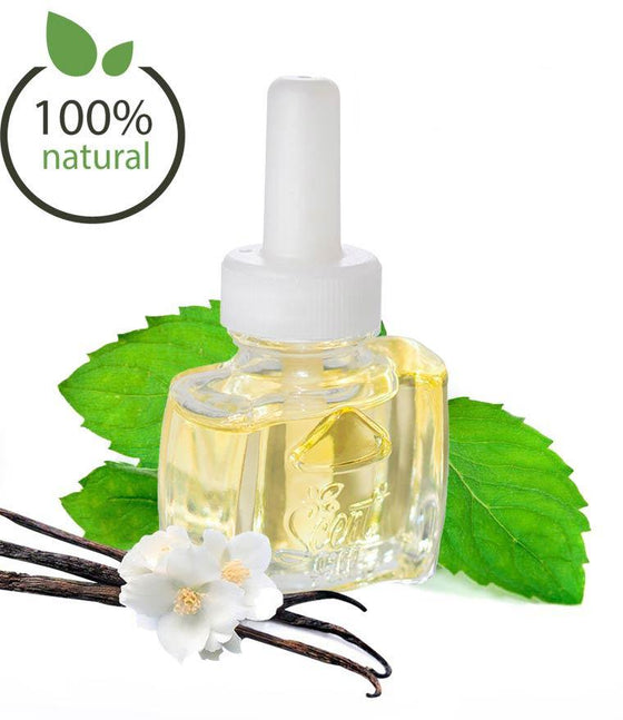 100% Natural Vanilla Peppermint Plug in Refill - Fits Air Wick®, and more