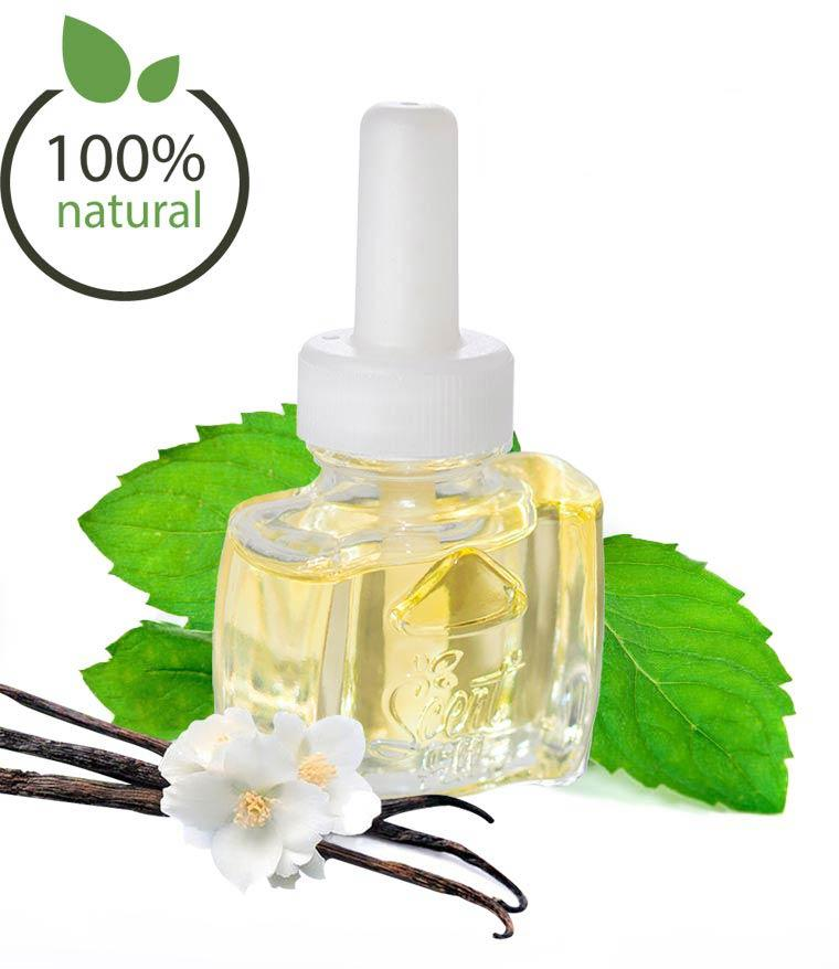 100% Natural Vanilla Peppermint Plug in Refill Air Freshener- Fits Air Wick® and more