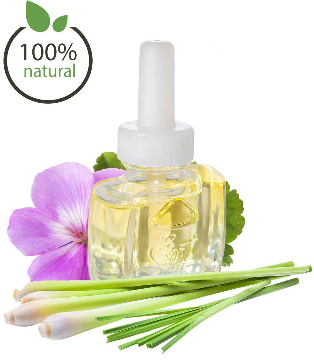 100% Natural Geranium Lemongrass Air Freshener
