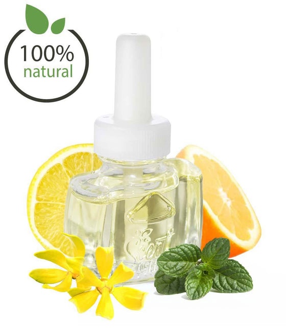 Citrus Floral All Natural Air Freshener Refill for Air Wick and more