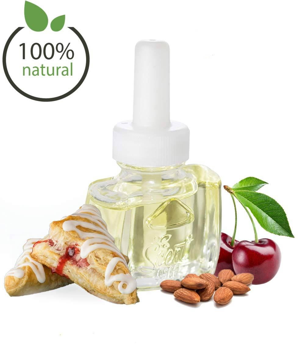 Natural Cherry Almond Scented Air Freshener Plugin