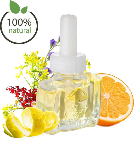 Natural Citrus Floral Earthy Refill For Plugin Scented Oil Warmers