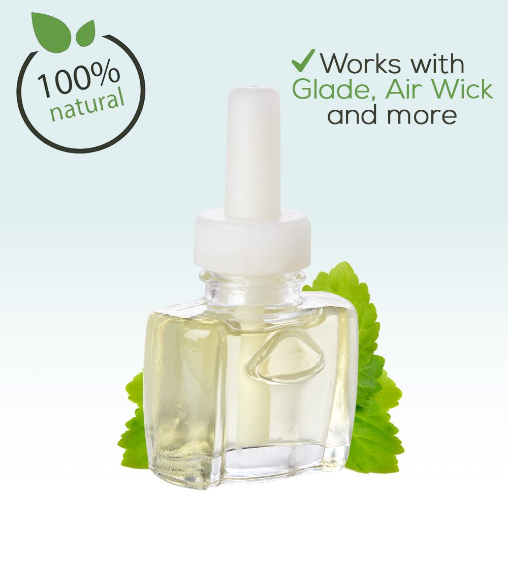 NEW - 100% Natural Patchouli Spa Plug in Refill - Fits Glade®, Air Wick®, and more