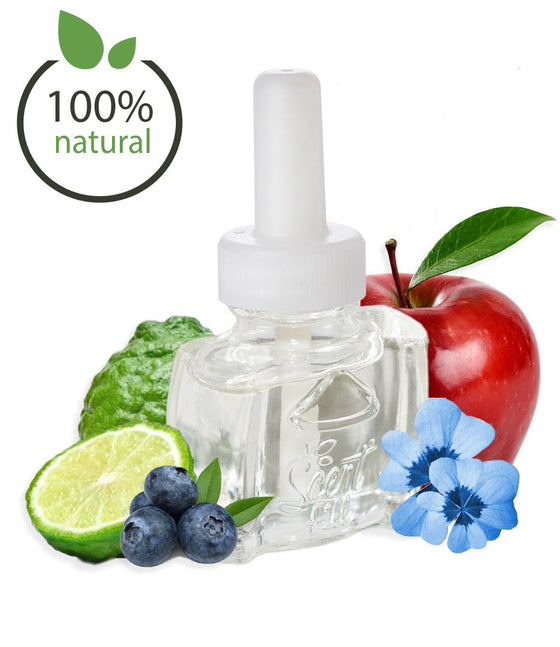 100% Natural Apple Blue Clover Air Freshener