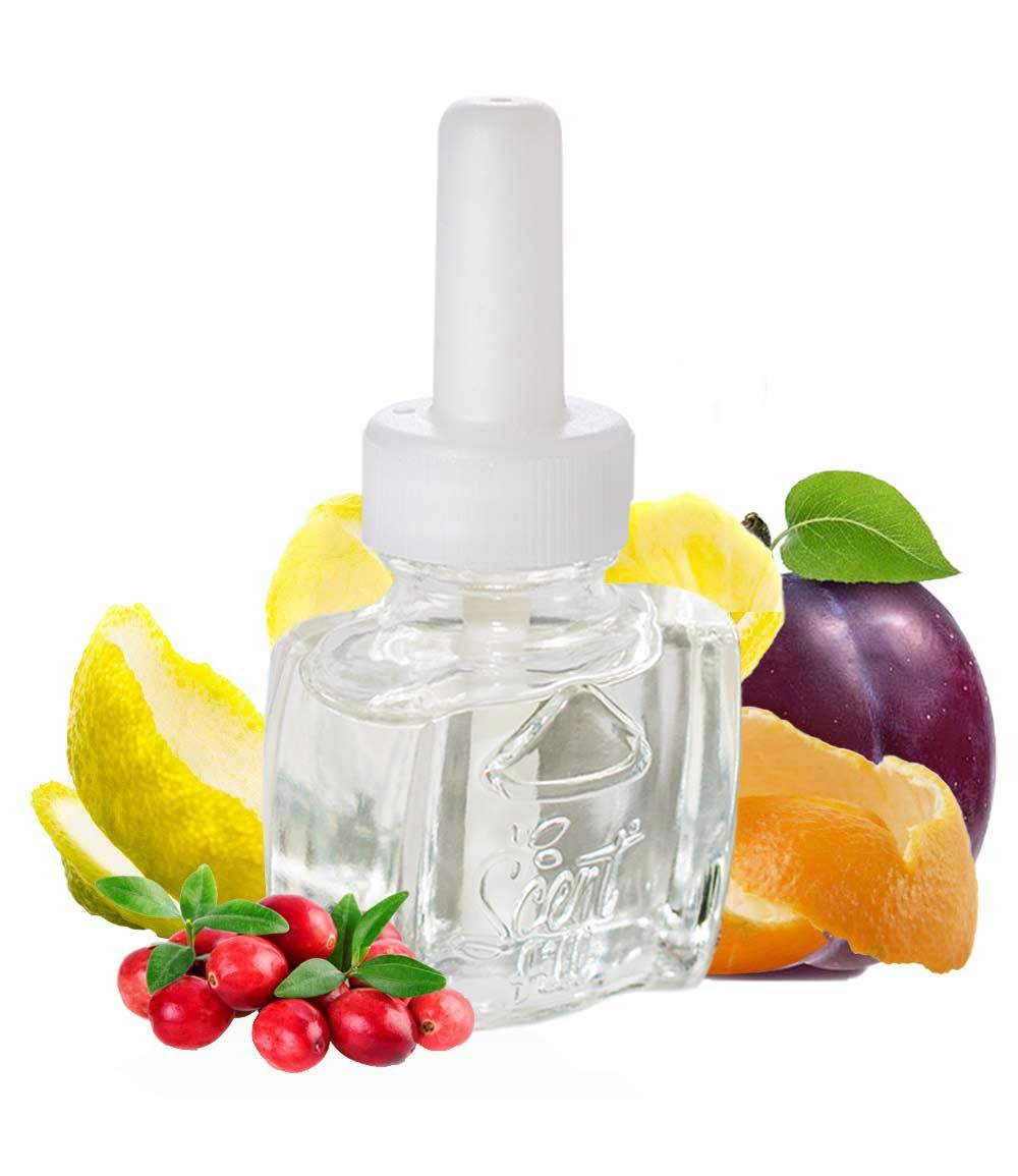 Cranberry plum scented oil refill air freshener