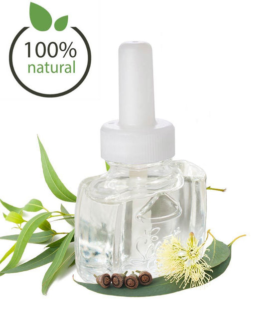 100% All Natural Eucalyptus plug in scented oil air freshener