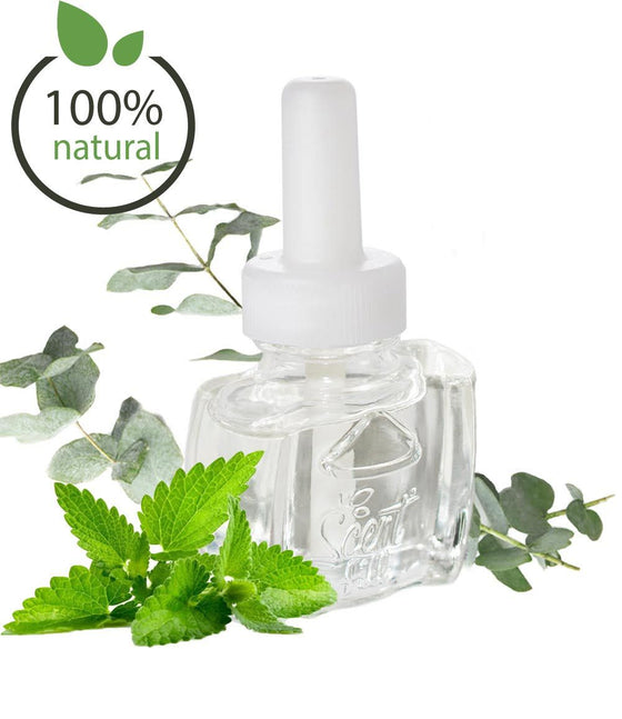 100% Natural Eucalyptus Spearmint Plug in Refill Air Freshener - Fits Air Wick® and more