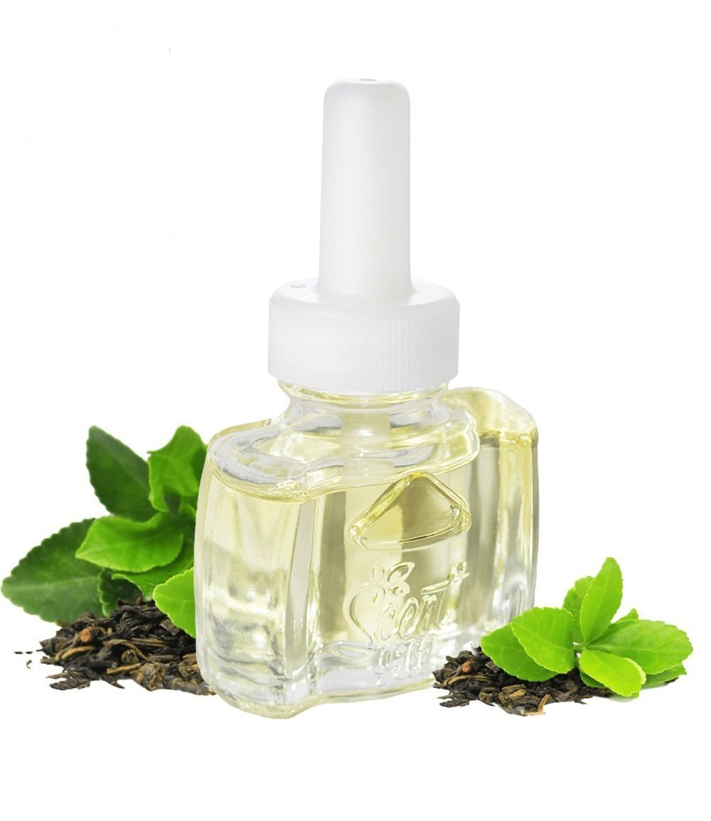 NEW - 100% Natural Green Tea Plug in Refill - Fits Air Wick® and more
