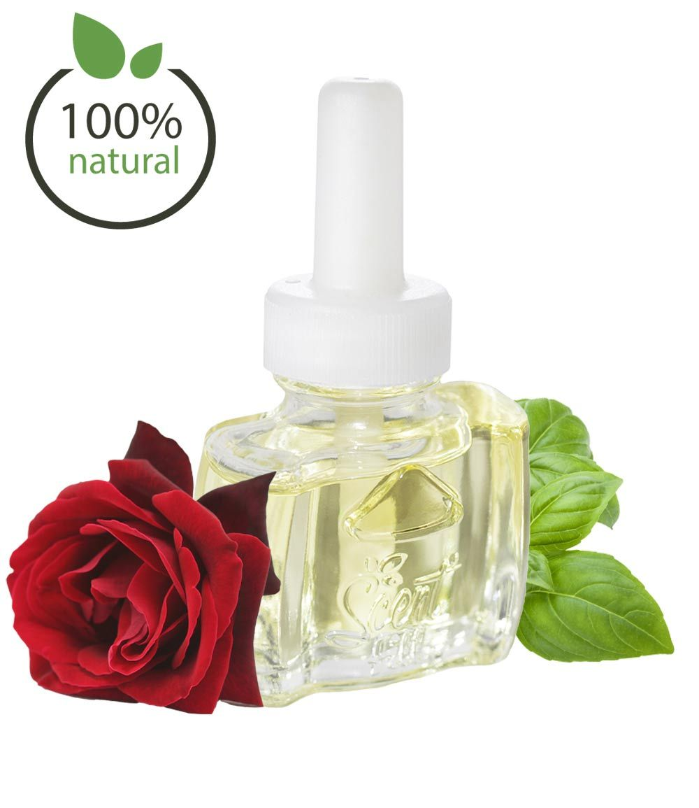 Rose & Basil Natural Air Freshener