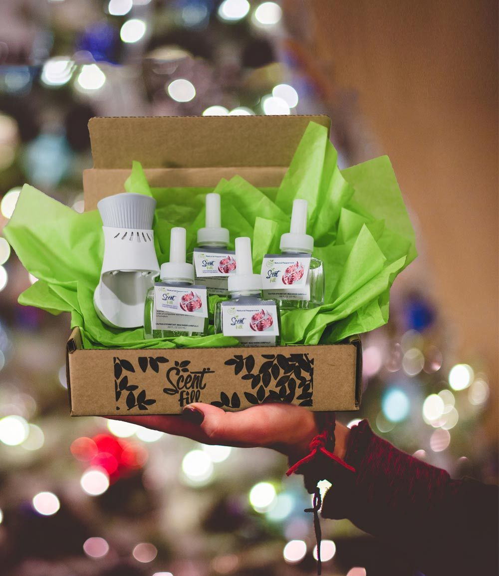Air Wick Peppermint Holiday Gift Box