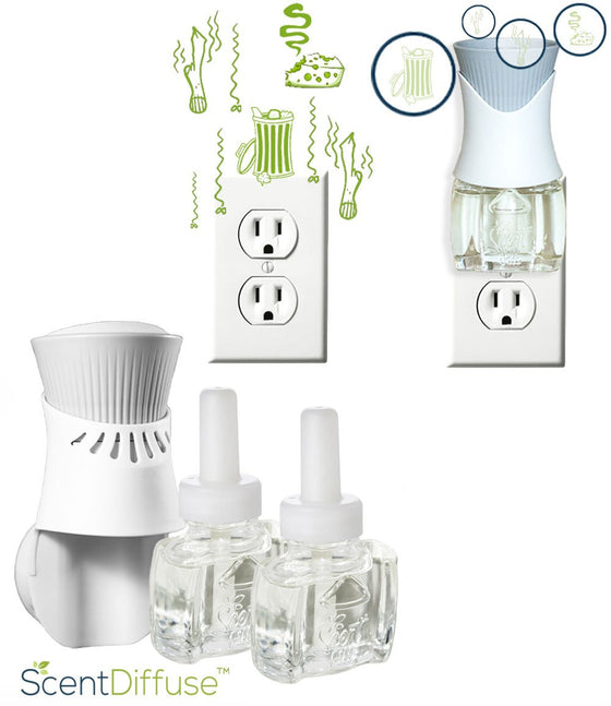 Customizable ScentDiffuse™ Deodorizing Starter Kit