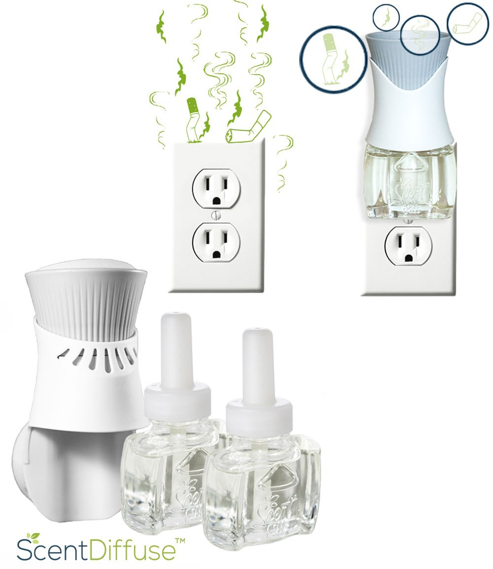 Smoke odor elimination deodorizer