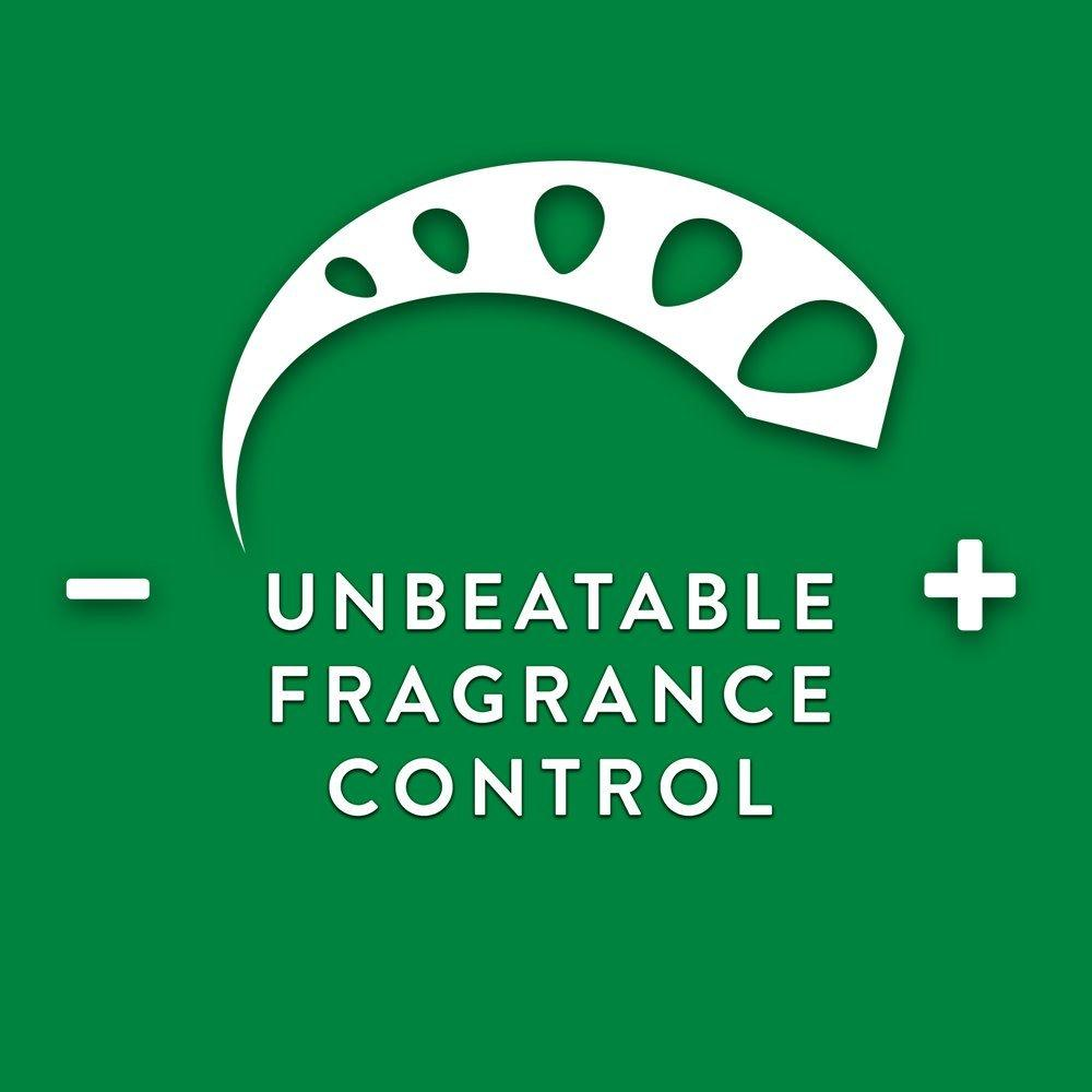 Air Wick Fragrance control dial use illustration