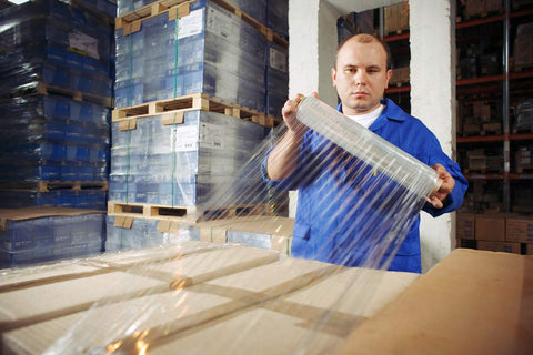 Eco-Friendly Pallet Wrap | Manual Shipping Protection | Stretch Film