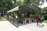 Arrow Car-Port 12' x 20' - Sojag Gazebos