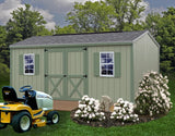 Best Barns Cypress 10 x 12 Wood Storage Shed Pre-cut Kit - Sojag Gazebos