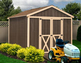 Best Barns Danbury Wood Storage Shed Pre-cut Kit 8 x 12 - Sojag Gazebos