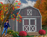 Best Barns 12 x 16 Denver Wood Barn Style Pre-cut Kit - Sojag Gazebos