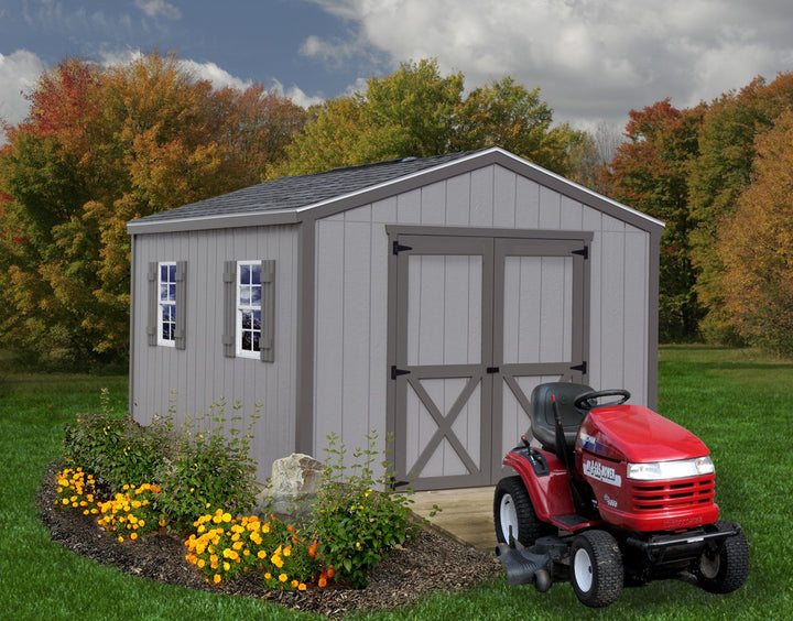 Best Barns Elm 10 x 16 Pre-cut Wood Storage Shed Kit - Sojag Gazebos
