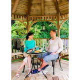 Outdoor Living Today Bayside 10′ Octagon Cedar Wood Gazebo - Sojag Gazebos