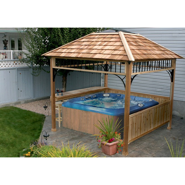 09' x 09' Naramata Spa Gazebo Shelter - Outdoor Living Today - Sojag Gazebos