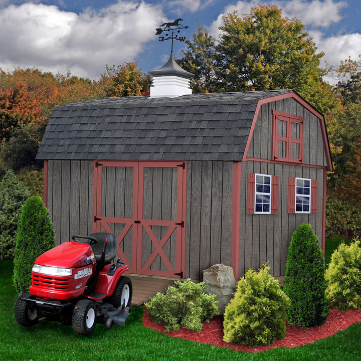 Best Barns 10 x 16 Meadowbrook Wood Storage Shed - Sojag Gazebos