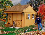 Best Barns Northwood 10 x 10 Wood Storage Shed Kit - Sojag Gazebos
