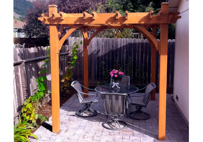 Outdoor Living Today Breeze 8' x 10' Cedar Wood Pergola - Sojag Gazebos