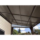 Sojag Charleston 10' x 13' Wall Mounted Patio Cover - Sojag Gazebos