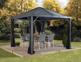 Sojag Sanibel Gazebo 8' x 8' Gazebo Hard Top - Sojag Gazebos