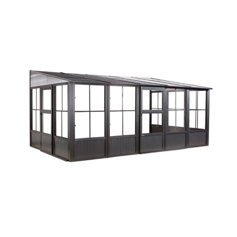 Sojag Charleston 10' x 16'  Wall Mounted Solarium - Sojag Gazebos