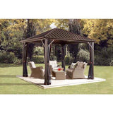 Sojag Dakota Hard-Top Gazebo with Mosquito Netting - Sojag Gazebos