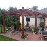 Breeze 12' x 16' Cedar Wood Pergola - Outdoor Living Today - Sojag Gazebos