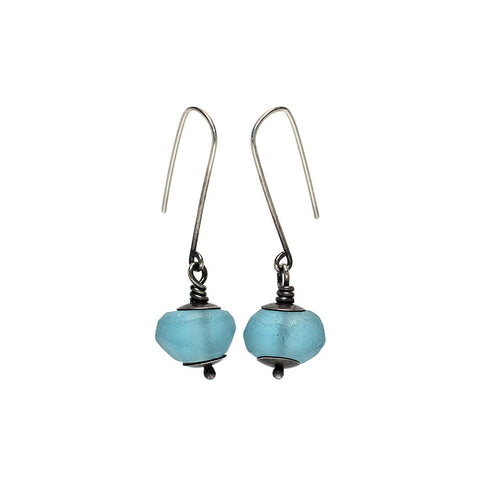 Sterling Silver Jewelry | Globe Lantern Earrings | Michele Lee | Rarefy Studio