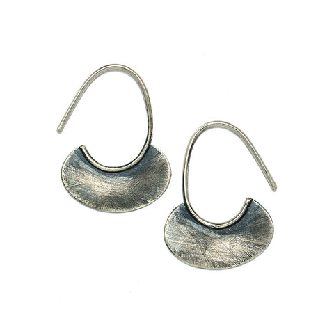 Sterling Silver Jewelry | Little Canoe Earrings | Michele Lee | Rarefy Studio