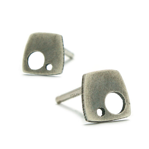 Sterling Silver Jewelry | Suiza Stud Earrings | Michele Lee | Rarefy Studio.