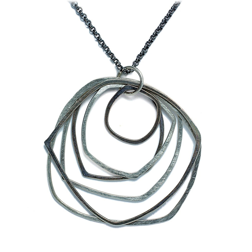 Sterling Silver Jewelry | Phoenix Necklace | Michele Lee | Rarefy Studio