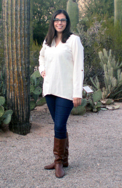 New Mexico 100% Cotton Women Shirt