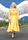 1950s inspired Raincoat with/withoout hood / detachable hood